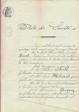 Photo: Acte de Société entre EBERLÉ, HÉRAUT et DUPUIS- 1874 - page2