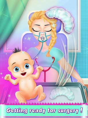 Mom Pregnant Surgery Simulator Games screenshot