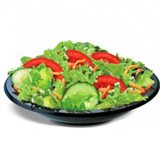 Vegetable Salad With Spicy Dressing
