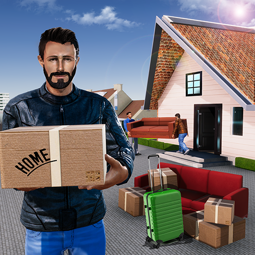 Super Dad Happy Family Home Mover (game)