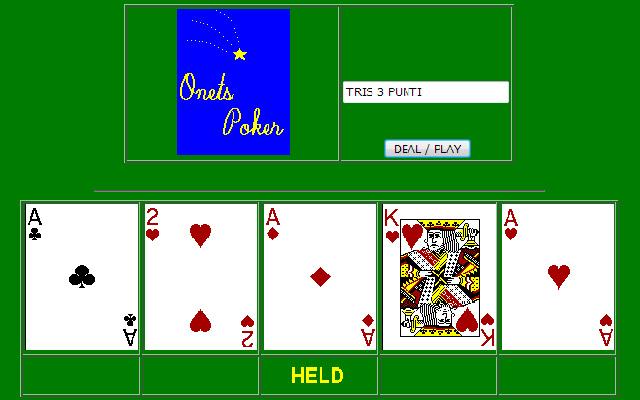 Onets Poker
