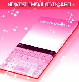 Newest Emoji Keyboard - náhled