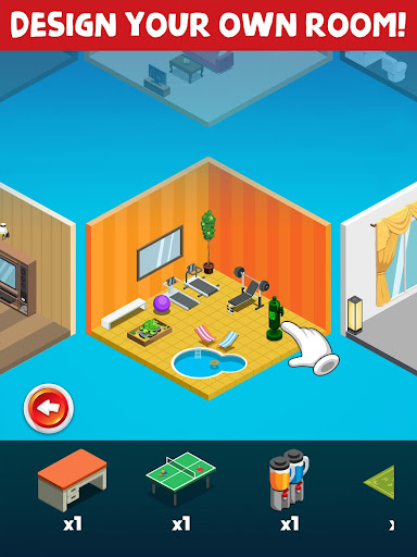 My Room Design - Home Decorating & Decoration Game 1.5 APK MOD screenshots 1