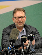 James Selfe of the DA. /  Veli Nhlapo