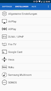 [root] AirAudio - stream your music! – Miniaturansicht des Screenshots