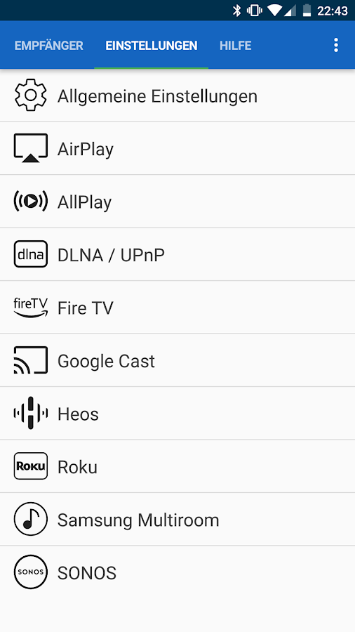 [root] AirAudio - stream your music! – Screenshot