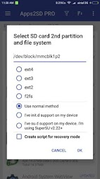 App2SD: All in One Tool [ROOT] APK screenshot thumbnail 4