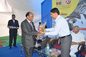 Photo: Mr. R.K. Agrawal Welcome Spacial Guest Shree. Devedra Parekh