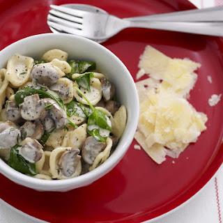 Mushroom Ragout Pasta.
