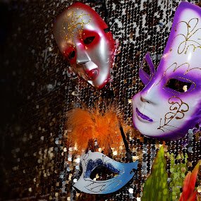 Masquerade Wall by Rodolfo Dela Cruz - Artistic Objects Other Objects