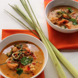 Thai Curry And Shrimp Soup
