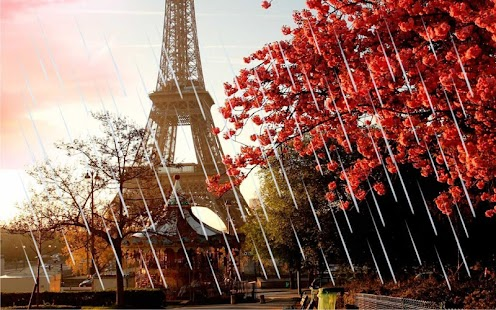 Autumn Paris live wallpaper - náhled