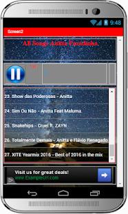 All Songs Anitta Paradinha - náhled
