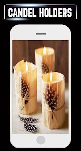 DIY Candle Holder Making Home Ideas Design Gallery - náhled