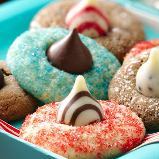 Holiday Blossom Cookies.