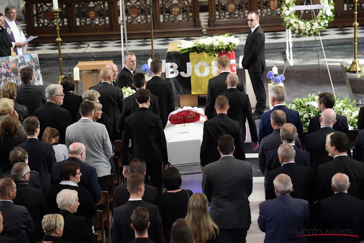 📷 IN BEELD: Het afscheid van Bjorg Lambrecht