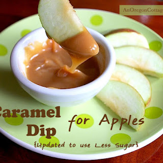 Homemade Caramel Dip for Apples - Updated