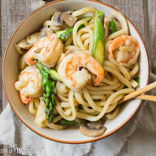 Mushrooms Asparagus Shrimp Recipes.
