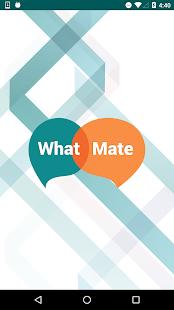 WhatMate - náhled