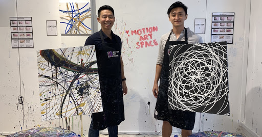 Let gravity do the work: This S'pore art studio lets you create masterpieces with Newton's law