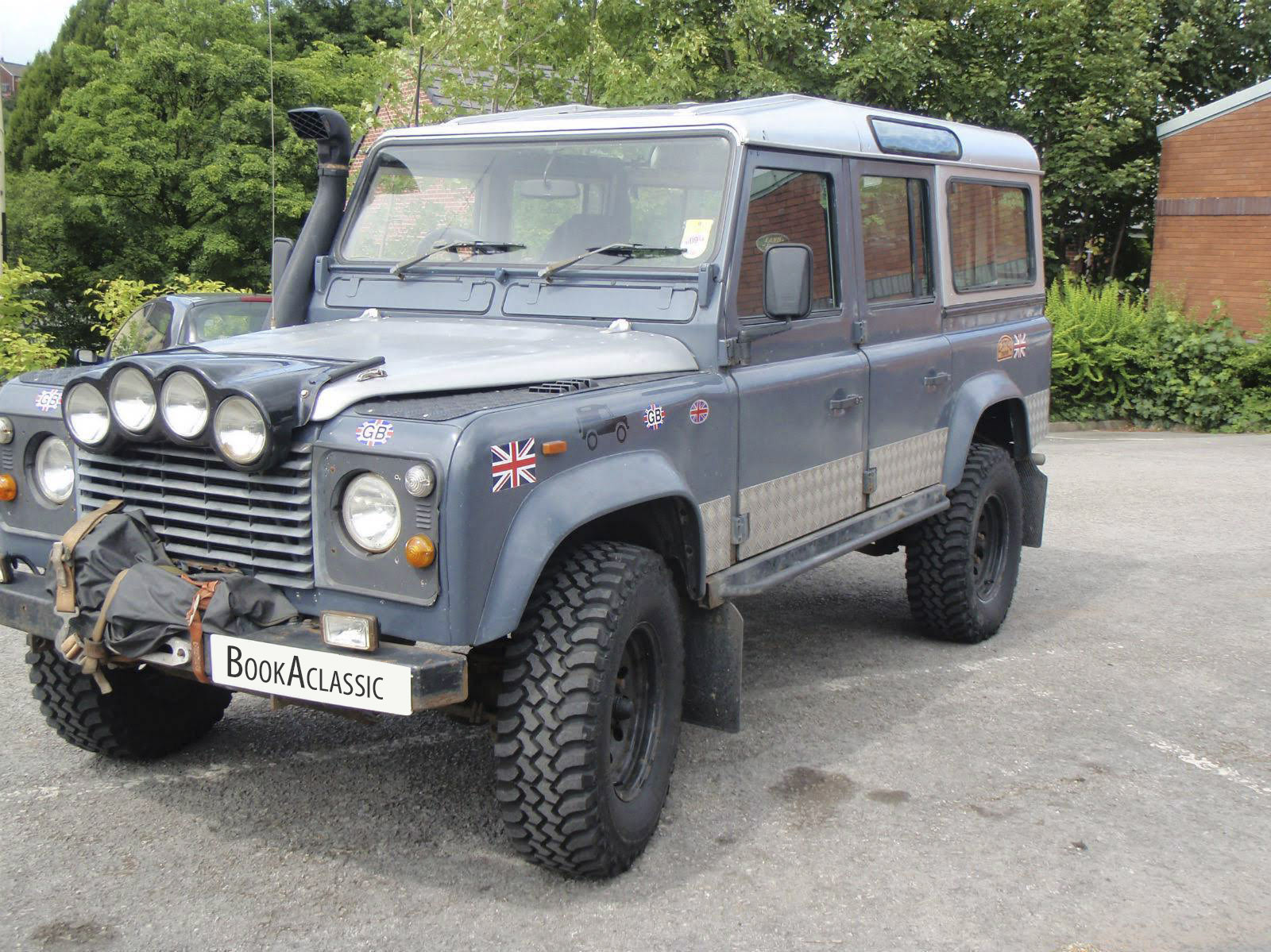 Land Rover Defender Hire Seaham