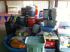 Photo: Day camp supplies