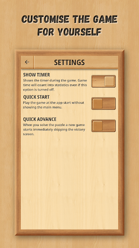 Sliding Puzzle: Wooden Classics 1.0.5 screenshots 5