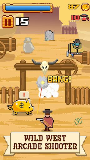 Timber West - Wild West Arcade Shooter 1.0.5 screenshots 1