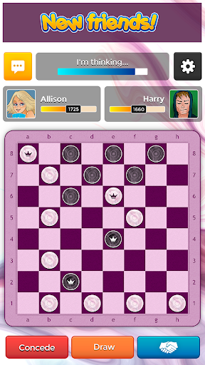 Checkers Plus - Board Social Games screenshots 4