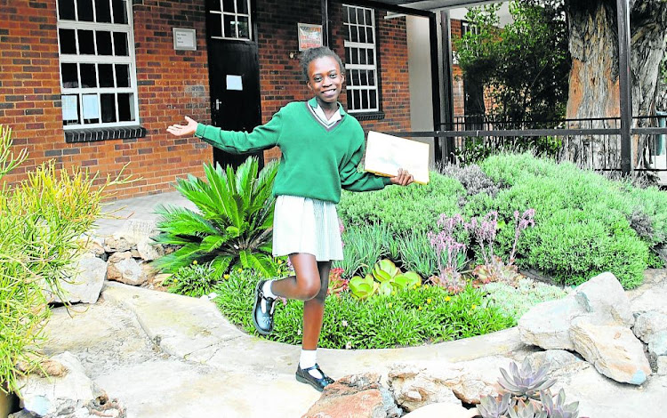 Lolo Legoabe of Boskop Primary School in Johannesburg was last year's 'Word Warrior' winner. Children across SA stand the chance to win books and cash in this year's competition