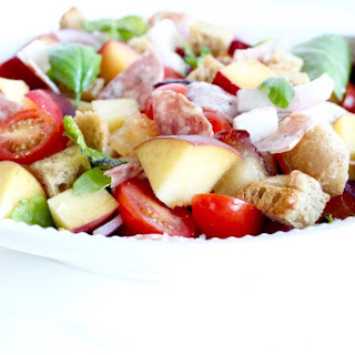 Stone Fruit Panzanella Salad Recipe