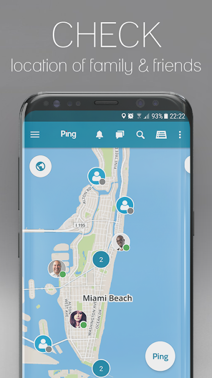 Ping - GPS, Safety & Emergency Alerts – (Android Apps) — AppAgg