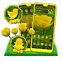 Yellow Tulip Theme icon