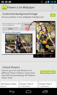 Flower Photo Live Wallpaper Apps On Google Play
