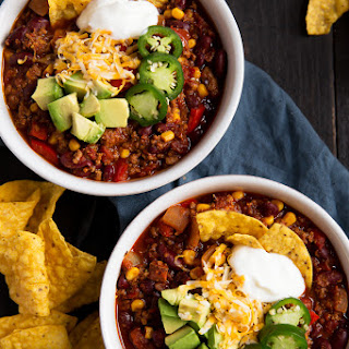 Seriously, The Best Healthy Turkey Chili.