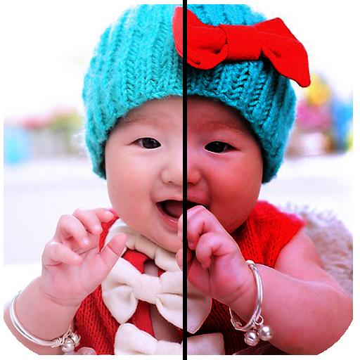 之前和之後的拼貼 攝影 App LOGO-硬是要APP