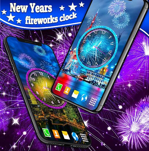 Fireworks 2019 New Years Clock 4.8.4 screenshots 4