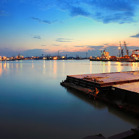 Jetty by Teguh Iwan S - Landscapes Waterscapes