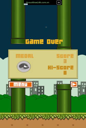 Flappy Crazy Bird 1.0 screenshots 3
