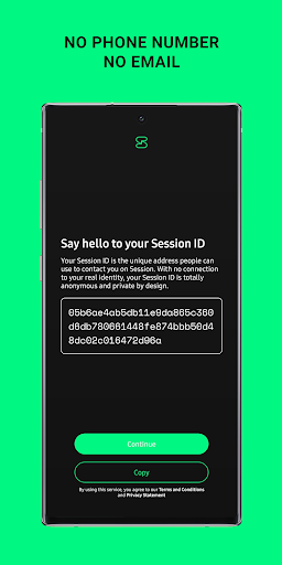 Session - Private Messenger screenshots 2