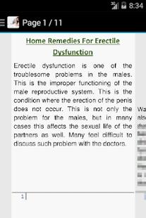 Erectile Dysfunction Remedies - náhled