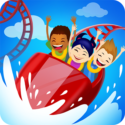Click Park 🎪 Idle Building Roller Coaster Game! Icon