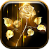 Golden Rose Live Wallpaper HD1.3