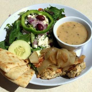 Weight Watchers Chicken and White Bean Salad in Pita Pockets