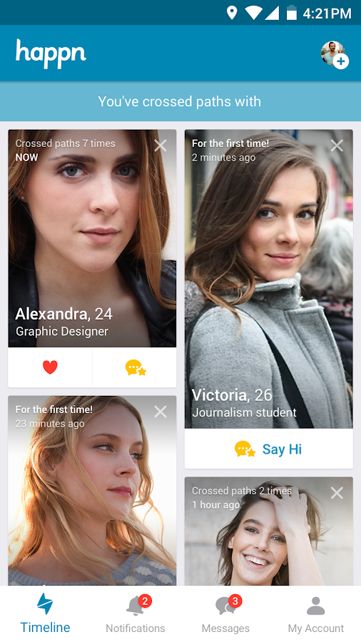 What dating apps are based on