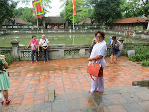 Photo: Chinese (Confucian ?) temple in Hanoi