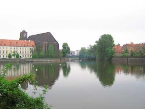 Photo: Ein Odra Arm in Breslau