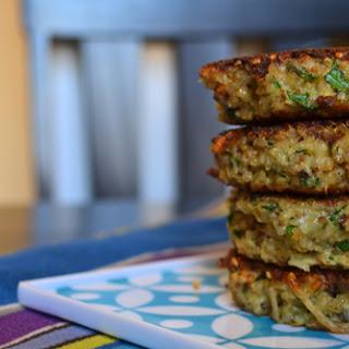 Basil Quinoa Cakes Recipe