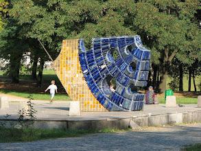 Photo: Zegar słoneczny przy ul. Nowomiejskiej w Łodzi