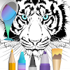 Coloring pages:Animals Mandala APK Icon
